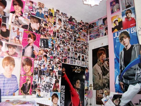 so oder so ähnlich solls aussehen :) - (Justin Bieber, Poster, Belieber zimmer)
