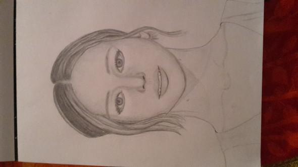 Zeichnung  - (Kunst, zeichnen, portrait)