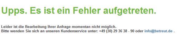 Betreut.de - (PC, Gesundheit, abmelden)