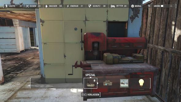 Baumenü Fallout 4 - (Mods, reparieren, Spielstand)