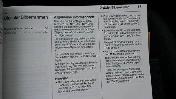 Bild 1 - (USB, Opel)