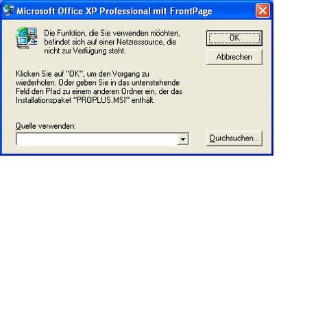 Das Fenster, dass auftaucht wenn ich Word öffne. - (Microsoft, Fehlermeldung, Word)