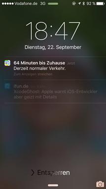 Beispiel, wie es aussehen soll - (iPhone, Apple, ios)