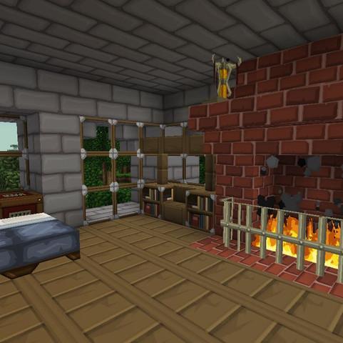 Minecraft mit Texture Pack sphax - (Minecraft, Spiele und Gaming, texture-pack)