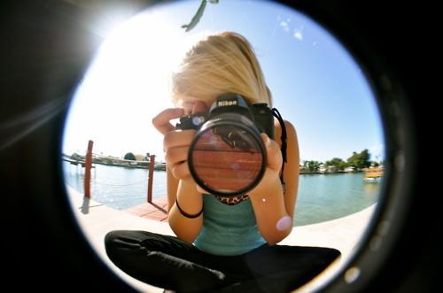 Original Fisheye-Objektiv Foto - (Foto, Fotografie, Photoshop)