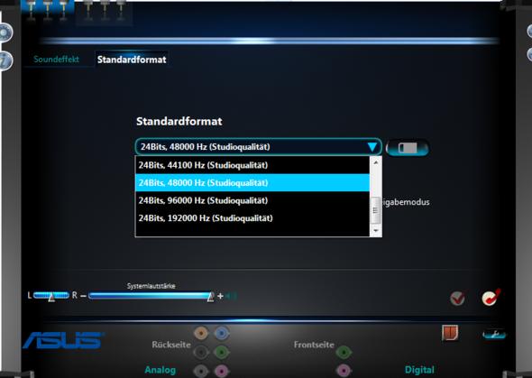 Screen 3 - (PC, Musik, Receiver)