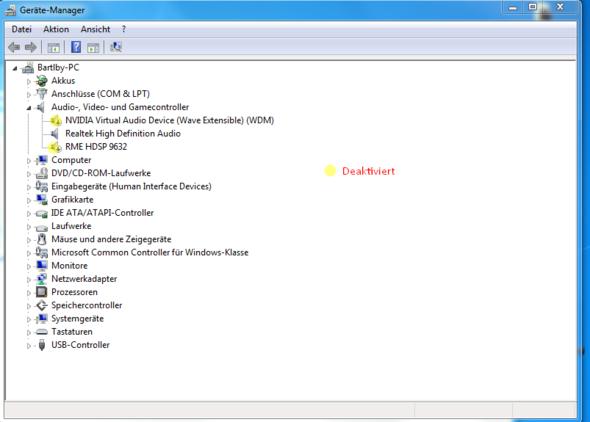 Screen 5 - (PC, Musik, Receiver)