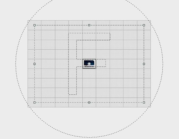Wie kann ich unter Sony Vegas 13 die Bild noch mal weiter weg Zoomen kann?