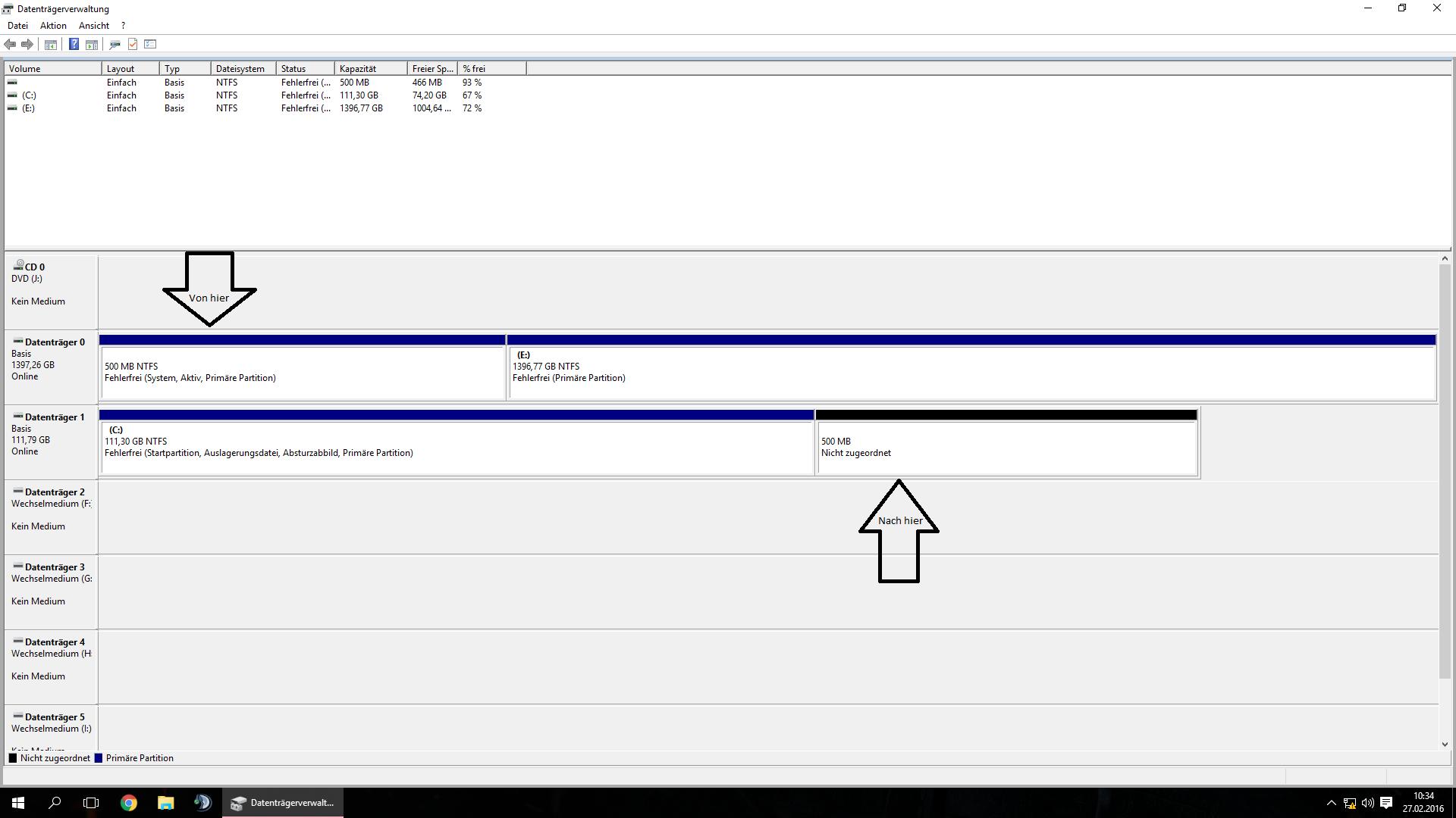 System-Reserviert Windows 10