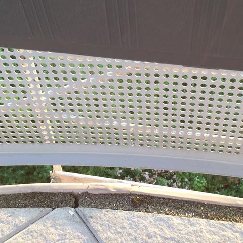 balkon wasser läuft nicht ab