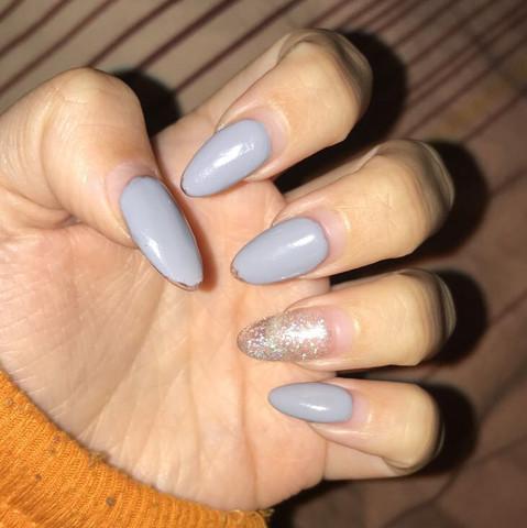 Wie kann ich von spitz auf Ballerina nails kommen?