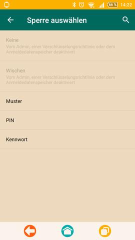 Bildschirmsperre nicht deaktivierbar - (Sony, Sicherheit, xperia)