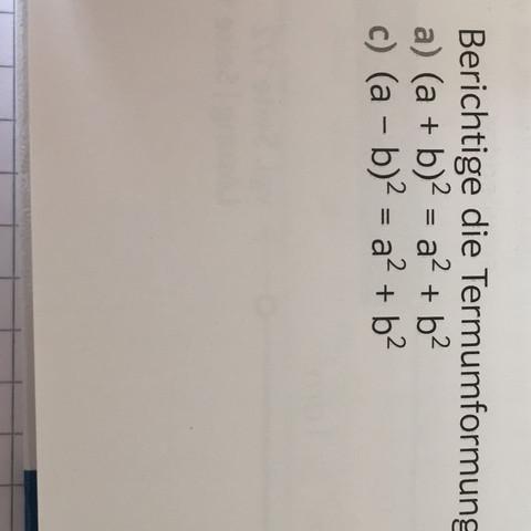 A) ist die Aufgabe - (Schule, Buch, Mathe)