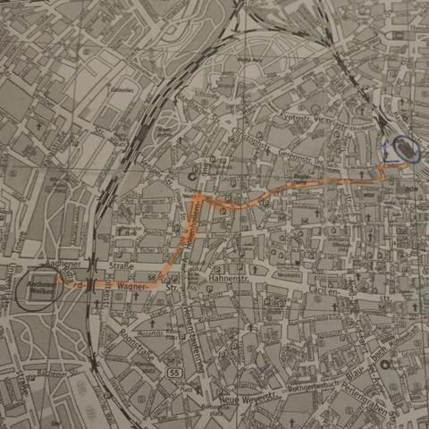 Weg beschreiben  - (Köln, Weg, beschreiben)