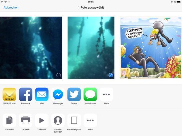 Hier sieht ihr eine Auswahl der möglickeiten, wie kann man hier Prog. Hinzufügen - (Programm, iPad)