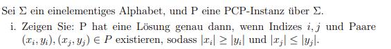 Wie kann man das weniger kompliziert beweisen PCP?