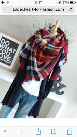 Wie kann man den Schal so binden?