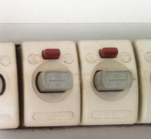 betreffende Sicherung - (Elektrik, Sicherung, Elektriker)