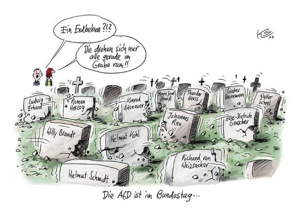 Afd karkikatur - (afd, Karikatur)
