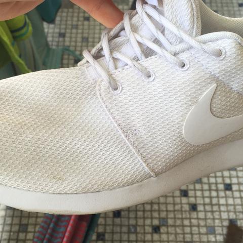 Wie kann man diese schuhe waschen? (Nike)