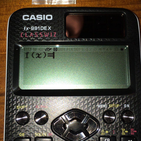 Diesen Modus meine ich! - (entfernen, Modus, Casio FX-991DE X)