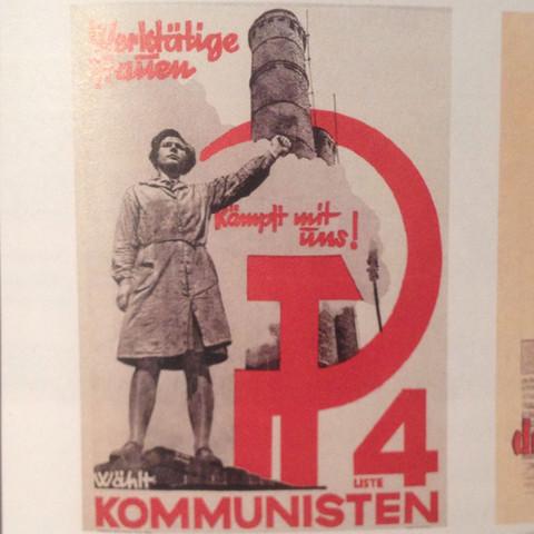 wahlplakatbild - (Deutschland, Link, Weltkrieg)