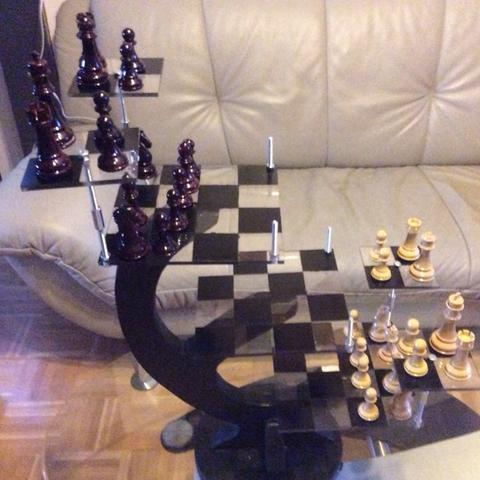 3D Schach - (bauer, Dame, 3D-Schach)