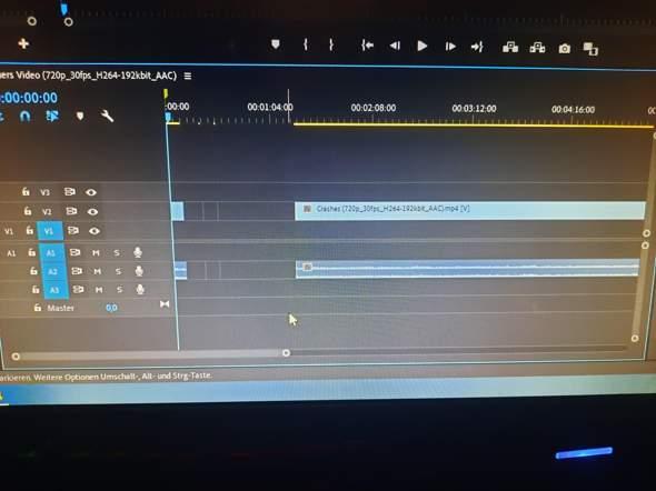 Wie kann man einen Premiere Pro clip lang ziehen?