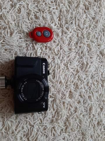 Wie kann man einen Remote shutter mit der Canon g7x verbinden?