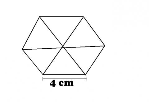 wie kann man einen sechseck ausrechnen mathematik. Black Bedroom Furniture Sets. Home Design Ideas