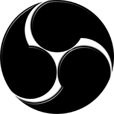OBS Studio logo - (Technik, aufnehmen)