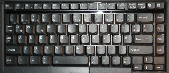 Mach ein Herz mit der Tastatur