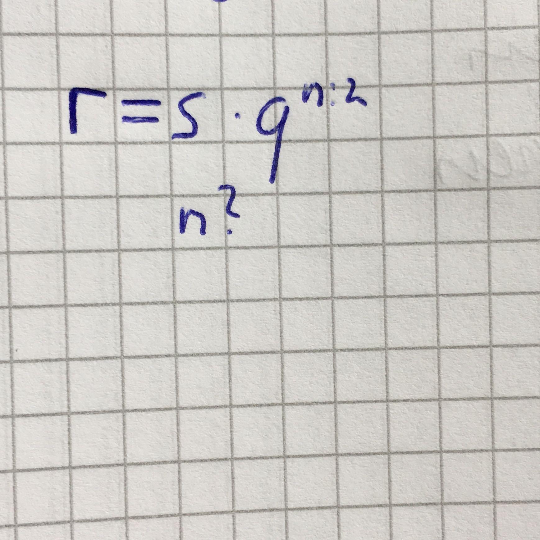 Wie kann man nach n umstellen? (Mathe, Gleichungen, Exponentielles ...