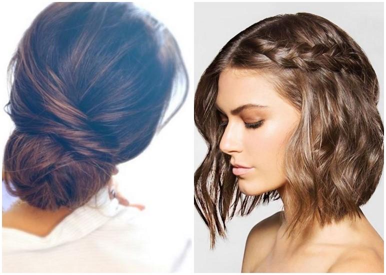 Zopf frisuren bei halblangen haaren