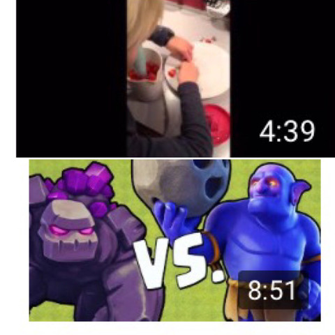 Das obere Video ist mein Video das untere ist das mit dem besonderen Titelbild - (Youtube, Video, aufnehmen)