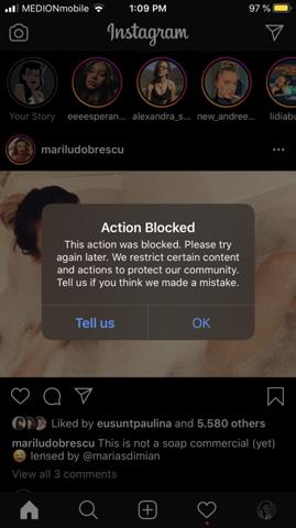 Geliked instagram ausversehen Instagram versehentlich