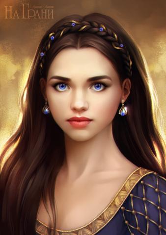 Mädchen mit Augenfarbe  - (Augen, Augenfarbe)