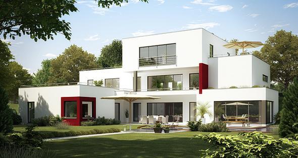 Traumhaus modern  wie könnte mann das Haus beschreiben? (Aussehen, Erklärung ...