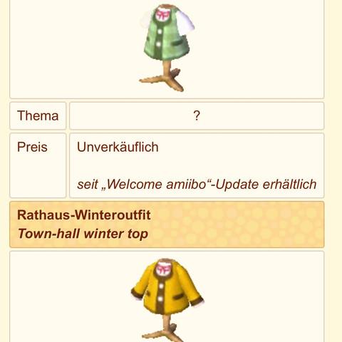 Bekleidung - (Kleidung, Klamotten, Animal-Crossing)