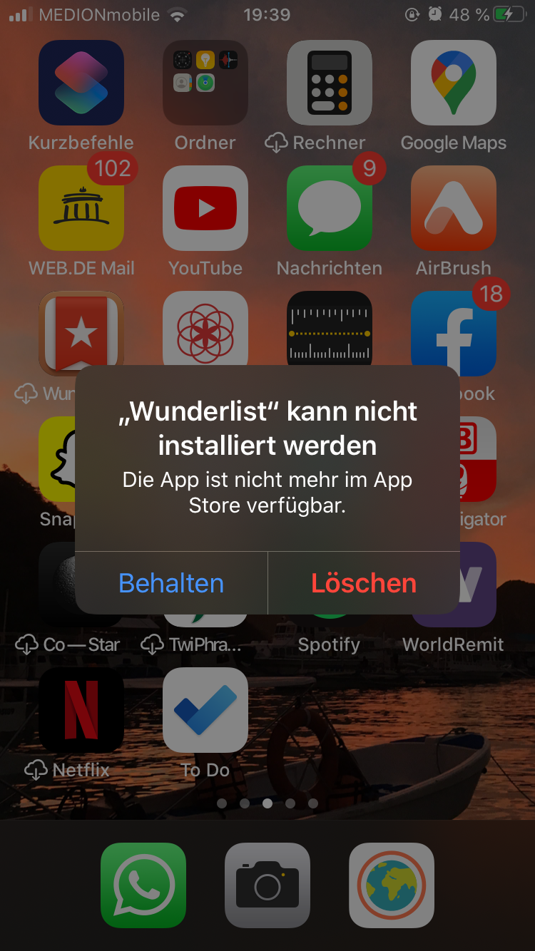 back up neues iphone
