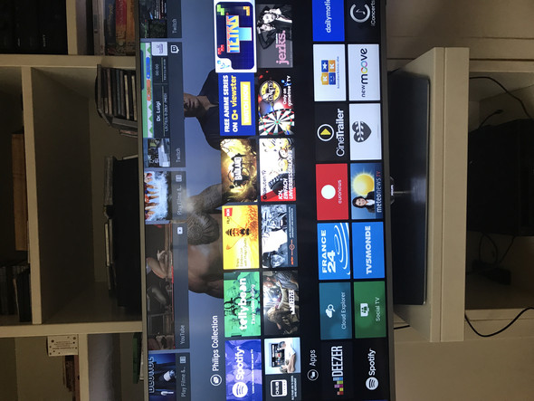 Wie komme ich auf HDMI bei Philips?
