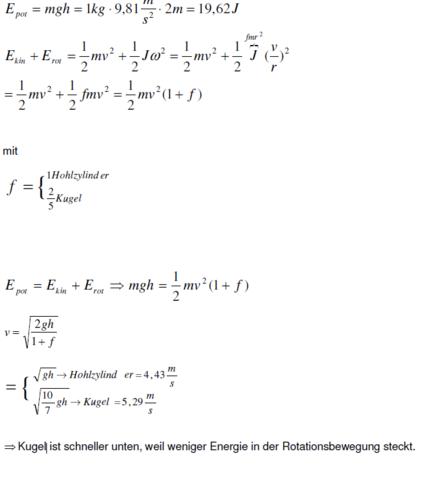 Physik - (Schule, Physik, Erklärung)