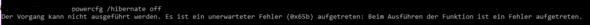 Der Fehler - (PC, Windows, cmd)