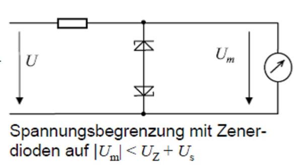 Begrenzerschaltung - (Elektronik, Elektrotechnik, Diode)