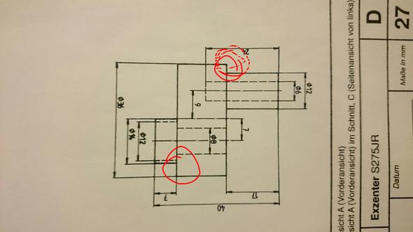 Zeichnung Vorderansicht - (Schule, zeichnen, Geometrie)