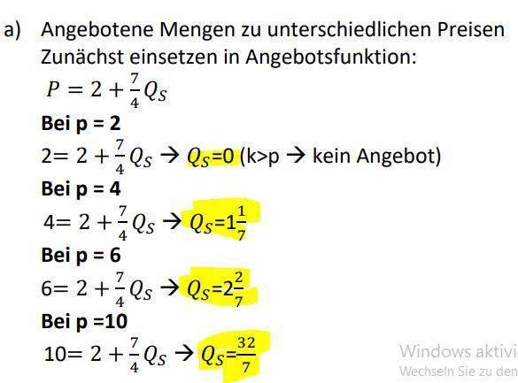 Wie stelle ich die Formel nach Qs um?