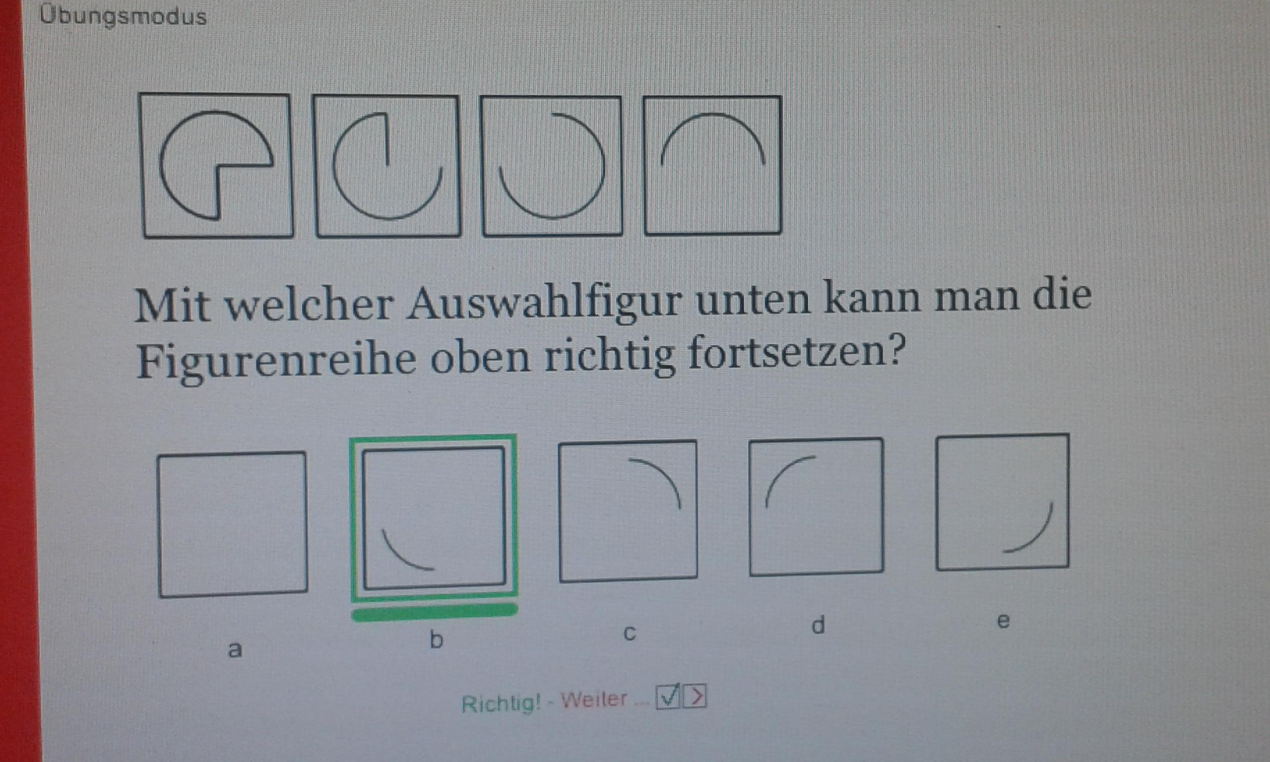 wie kommt man bei dieser figurenreihe auf die richtige l sung mathematik physik logik. Black Bedroom Furniture Sets. Home Design Ideas
