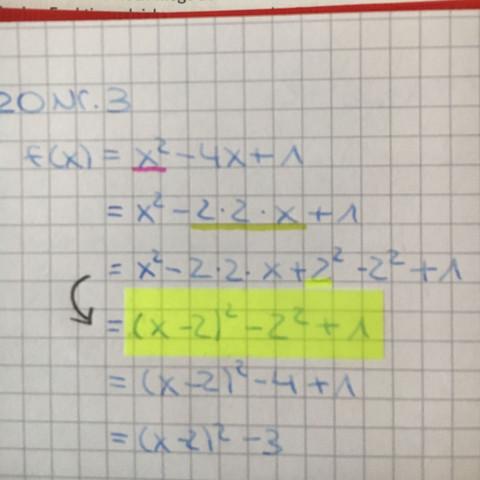 (gelb markierte) - (Schule, Mathe, Mathematik)