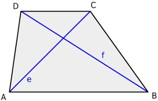 Trapez Mittelpunkt? - (Schule, Mathe, Mathematik)