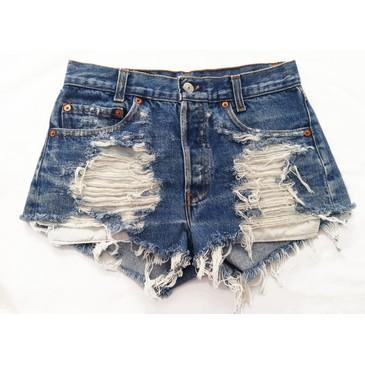 hotpants - (Jeans, Hotpants, Used look)